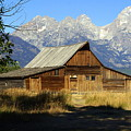 Teton Barn 4 by Marty Koch