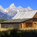Teton Barn 5 by Marty Koch