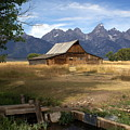 Teton Barn by Marty Koch