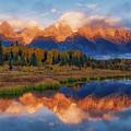 Teton Morning by Darren White