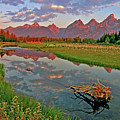 Teton Reflection by Scott Mahon