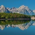 Teton Reflections by Gary Lengyel