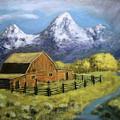 Teton Summer by Richard Nervig