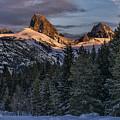 Teton Sunset by Erika Fawcett