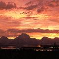 Teton Sunset by Mark Jackson