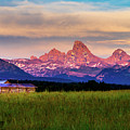 Teton Valley Sunset by TL  Mair