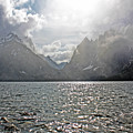 Tetons At Jenny Lake by Zach  Arnone