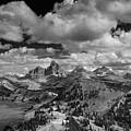 Tetons From The West by Raymond Salani III