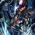 Tetsuya Nomura Catwoman by Pete Tapang