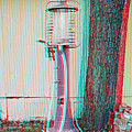 Texaco Gas Pump - Use Red-cyan 3d Glasses by Brian Wallace