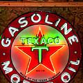 Texaco Gasoline by Lorraine Baum