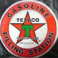 Texaco Sign by Richard Le Page