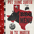 Texas Barbecue 4 by Mindy Sommers