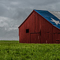 Texas Barn Panorama