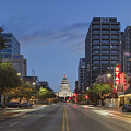 Texas Capitol And The Paramount From Congress by Rob Greebon