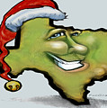 Texas Christmas Greetings by Kevin Middleton