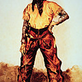 Texas Cowboy by Frederic Remington