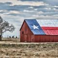 Texas Flag Barn #1 by Ronnie Prcin