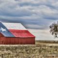 Texas Flag Barn #2 by Ronnie Prcin