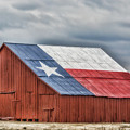 Texas Flag Barn #3 by Ronnie Prcin