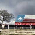 Texas Flag Barn #4 by Ronnie Prcin