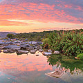Texas Hill Country Morning Along The Pedernales 2 by Rob Greebon