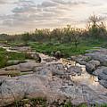 Texas Hill Country Sunrise - Llano Tx by Brian Harig