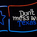 Texas Neon Sign by Mindy Sommers