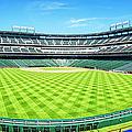 Texas Rangers Ballpark Waiting For Action by Joan Carroll
