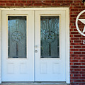 Texas Star Double Doors by Catherine Sherman