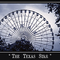 Texas Star In Blue by Imagery by Charly
