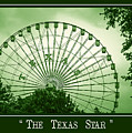 Texas Star In Green by Imagery by Charly