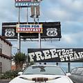 Texas Steak House Kitsch  by Gary Warnimont