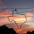 Texas Sunset by Robert Anschutz