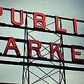 Text Public Market In Red Light by © Reny Preussker