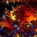Texture Of Jackolantern by Ron Bissett