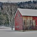 Textured Barn by Nancy Marshall