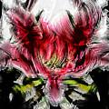 Textured Lily by Jolanta Anna Karolska