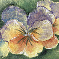 Textured Pansy by Marsha Elliott