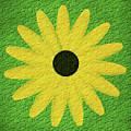 Textured Yellow Daisy by Smilin Eyes  Treasures