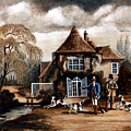 Th Hunting Lodge. by James Richardson