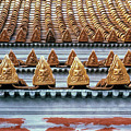 Thai Temple Roof by Valerie Brown