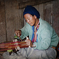 Thai Weaving Tradition by Heiko Koehrer-Wagner