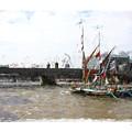 Thames Barges by Roger Lighterness