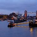 Thames Riverside by Ben Kamble