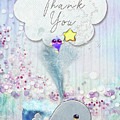 Thank You - Whale  by Mo T