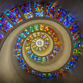 Thanksgiving Chapel Stained Glass by Stephen Stookey
