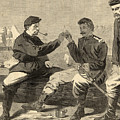 Thanksgiving Day In The Army by Winslow Homer