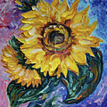 That Sunflower From The Sunflower State by OLena Art Brand