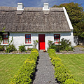 Thatch Roof Cottage Ireland by Pierre Leclerc Photography